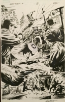 Captain America #46, 2009, pag 1, SIGNED Comic Art