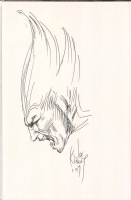 Joe Kubert Wolverine Sketch Comic Art
