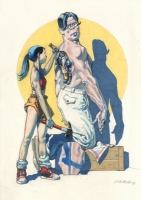 Ranxerox e Lubna - Liberatore Comic Art