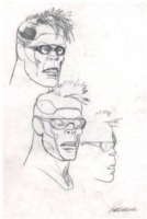 Ranxerox Pencil Study- Liberatore Comic Art