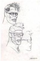 Ranxerox Pencil Study- Liberatore Comic Art