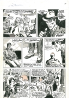 John Buscema Doc Savage Magazine Issue 3 Page 19, Comic Art