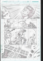 Nicola Scott Earth 2 Issue 18 Page 8 US175.00, Comic Art