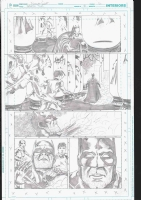 Nicola Scott Earth 2 Issue 18 Page 9 US175.00, Comic Art