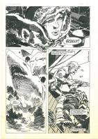 Jorge Zaffino Wintersea Page 12, Comic Art