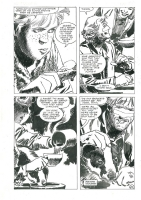 Jorge Zaffino Wintersea Page 21, Comic Art