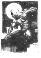 Gerardo Zaffino Daredevil Illustration, Comic Art