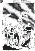 Stuart Immonen Legion of Super-Heroes #50 Pin-Up, Comic Art