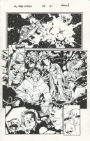 Stuart Immonen and Wade Von Grawbadger All New X-Men Issue 23 Page 21, Comic Art