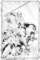 Spider-Man/Gen 13 One-Shot Front Cover, Comic Art