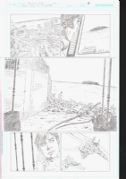 Convergence Teen Titans Issue 1 Page 6 US$100.00, Comic Art