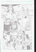 Convergence Teen Titans Issue 1 Page 9 On Hold, Comic Art