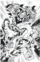 Bryan Hitch Stormwatch Vol. 2, #4, Page 6, Comic Art