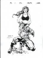 Fatale #1 Cover Comic Art