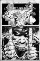 Punisher War Zone # 25 pg 1 Comic Art