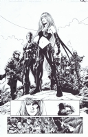 New Avengers #1 Page 7 Comic Art