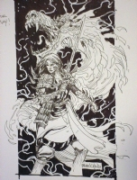 chinese witchblade Comic Art