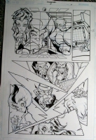thundercats #3 pg 11 Comic Art
