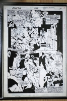 Flash 109 pg 11 Johnny Quick and Savitar Comic Art