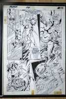 Flash 110 pg 15 - Jesse Quick (Liberty Belle) Comic Art
