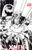 Professor X & Onslaught, Comic Art
