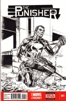 The Punisher, Comic Art
