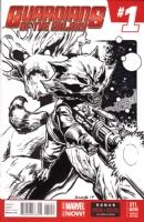 Rocket & Groot!, Comic Art