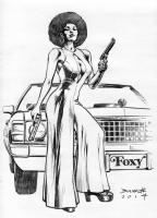 Pam Grier!, Comic Art