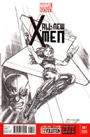 All New X-Men X-23, Comic Art