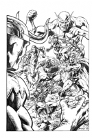 Avengers #1 Homage, Comic Art