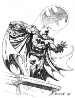Batman the Dark Knight 08, Comic Art