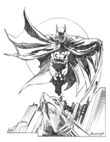Batman: Caped Crusader Comic Art