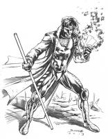 Gambit Comic Art