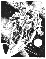 Green Lantern Corps: Kyle and Soranik, Comic Art