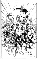 Green Lantern Corps., Comic Art