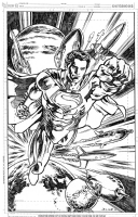 Man of Steel! Comic Art