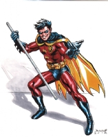 Robin the Boy Wonder - Full Color Comic Art