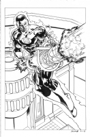 Green Lantern John Stewart Comic Art