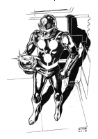 Nova the Human Rocket Comic Art