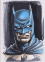 Batman portrait Comic Art