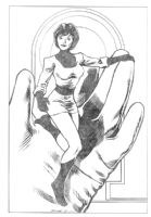 Shrinking Violet (Legion of Superheroes) Comic Art