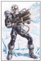 Mr. Freeze  Comic Art