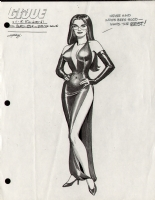 GI - G.I. JOE - BARONESS IN EVENING ATTIRE Comic Art