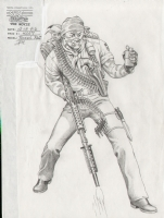 GI - G.I. JOE - TUNNEL RAT Comic Art