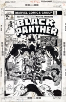 BLACK PANTHER #8 COVER Comic Art