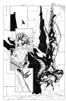 Wolverine 3 pg 1, Comic Art