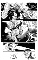 Avengers vs X-men 6 pg 33, Comic Art