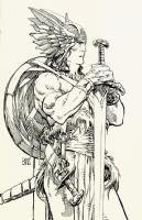 B.W.Smith  - Young Axus Comic Art
