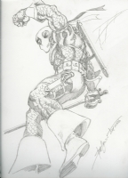 Deathstroke by Steve Erwin Comic Art