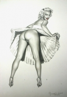 Casotto - Marilyn Monroe as(s) you have never seen her Comic Art